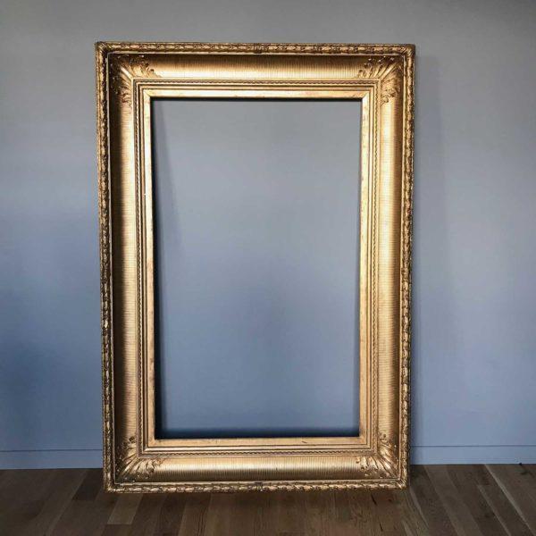 cadre doré XIXème siècle