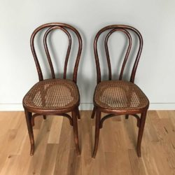 chaises bistrot