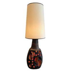Lampe céramique 1970