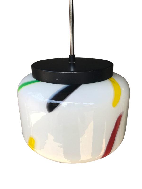 Suspension opaline couleur