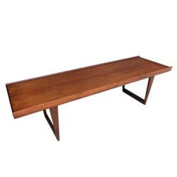 Table en bois scandinave 1950