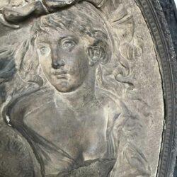 tableau en relief XIXeme