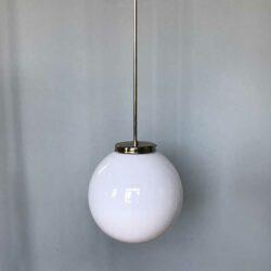 suspension boule verre
