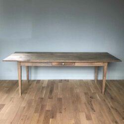 Table de ferme en chêne ancienne